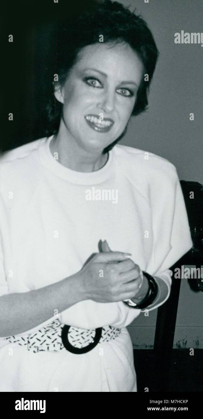 Grace Slick 1978 Photo By John Barrett-PHOTOlink - Stock Image