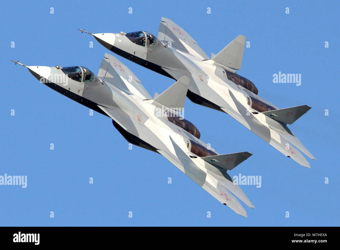 Russian Jet Fighters Stock Photos & Russian Jet Fighters
