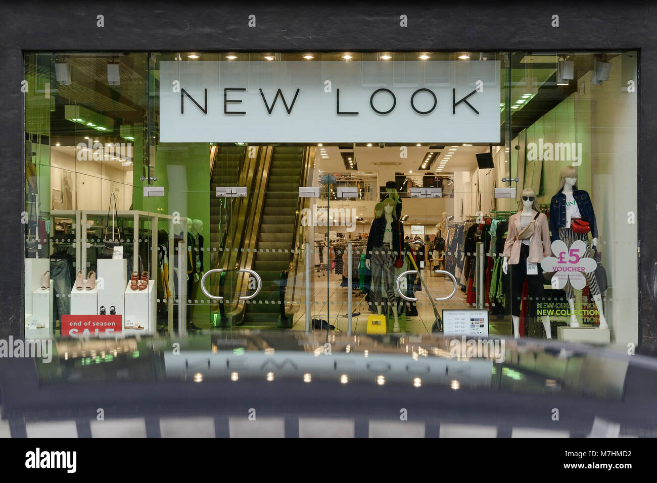 New Look shop front in Chester city centre UK - Stock Image