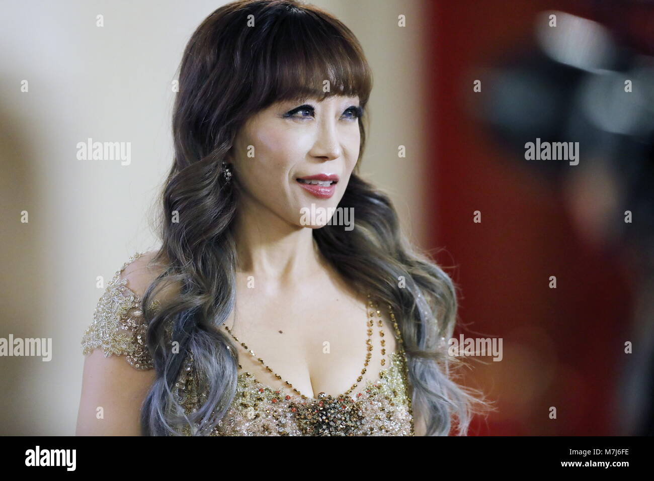 Moscow Russia 11th Mar 2018 South Korean Soprano Sumi Jo Ahead