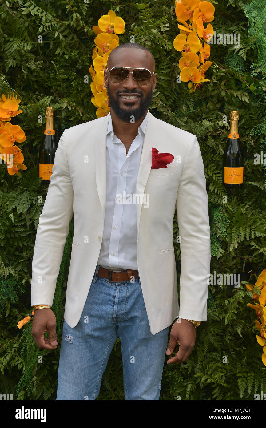Miami, FL, USA. 10th Mar, 2018. Tyson Beckford attends the 4th Annual Veuve Clicquot Carnaval at Museum Park on Stock Photo