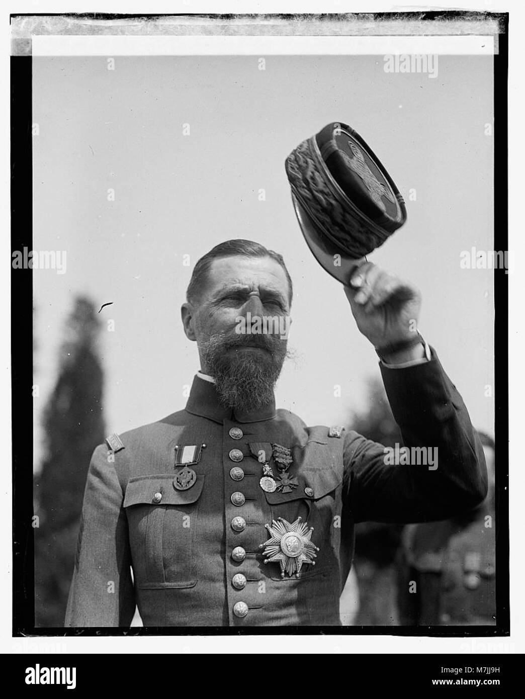 Gen'l Henri Joseph Eugene Gouraud, 7-5-23 LOC npcc.09013 Stock Photo