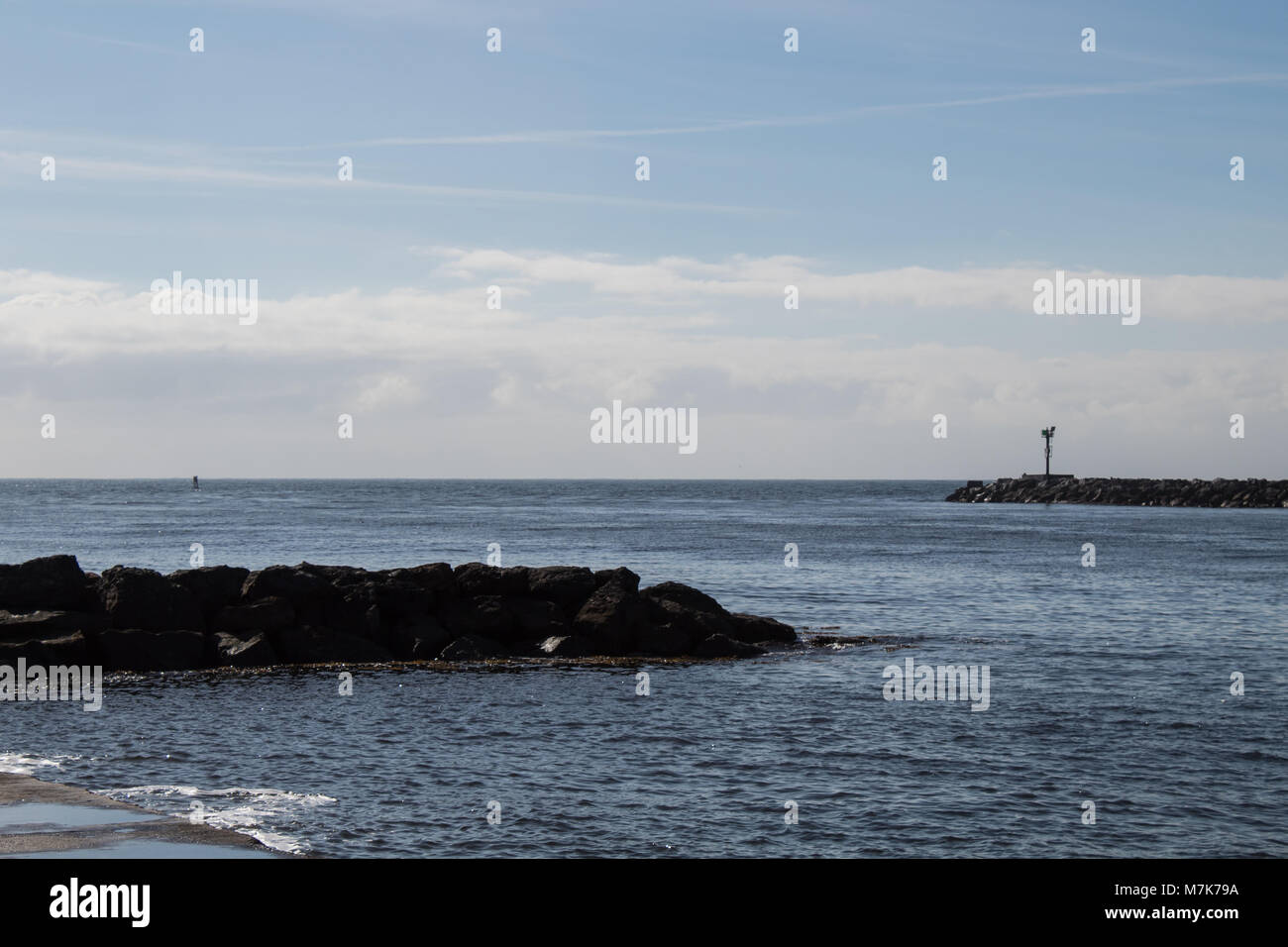 Newport Beach California seascape - Stock Image