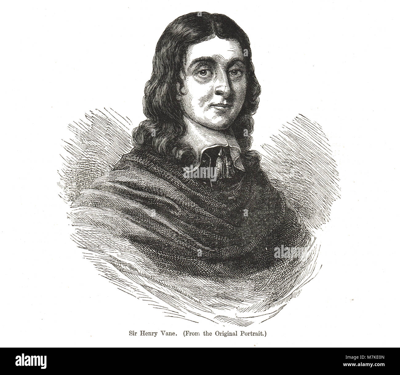 Henry Vane the Younger (1613-1662)  also known as Harry Vane - Stock Image