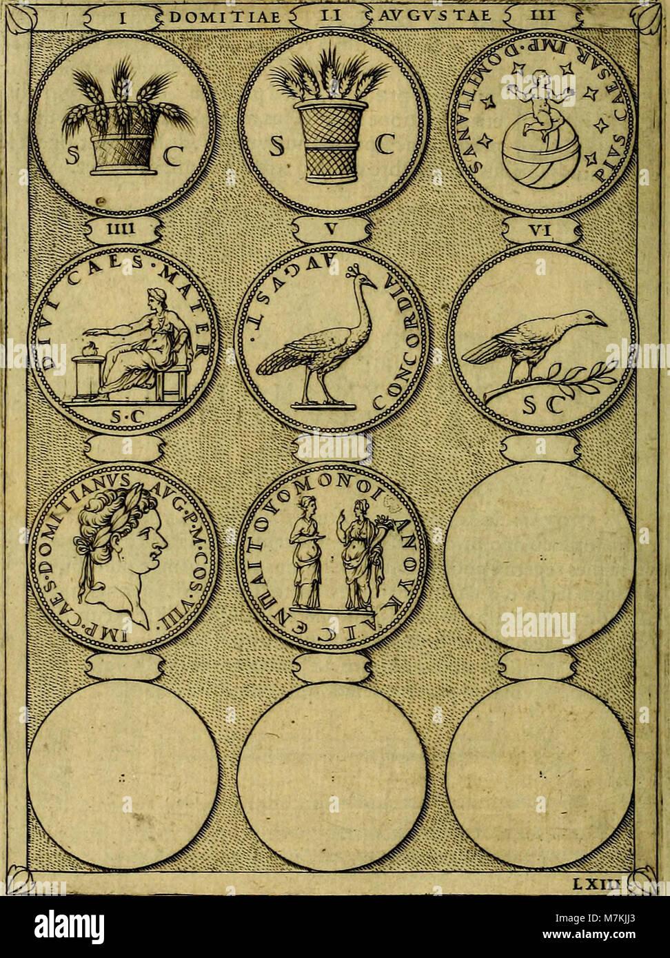 Avgvstarvm imagines aereis formis expressae - vitae quoque carundem breuiter enarratae, signorum etiam, quae in Stock Photo