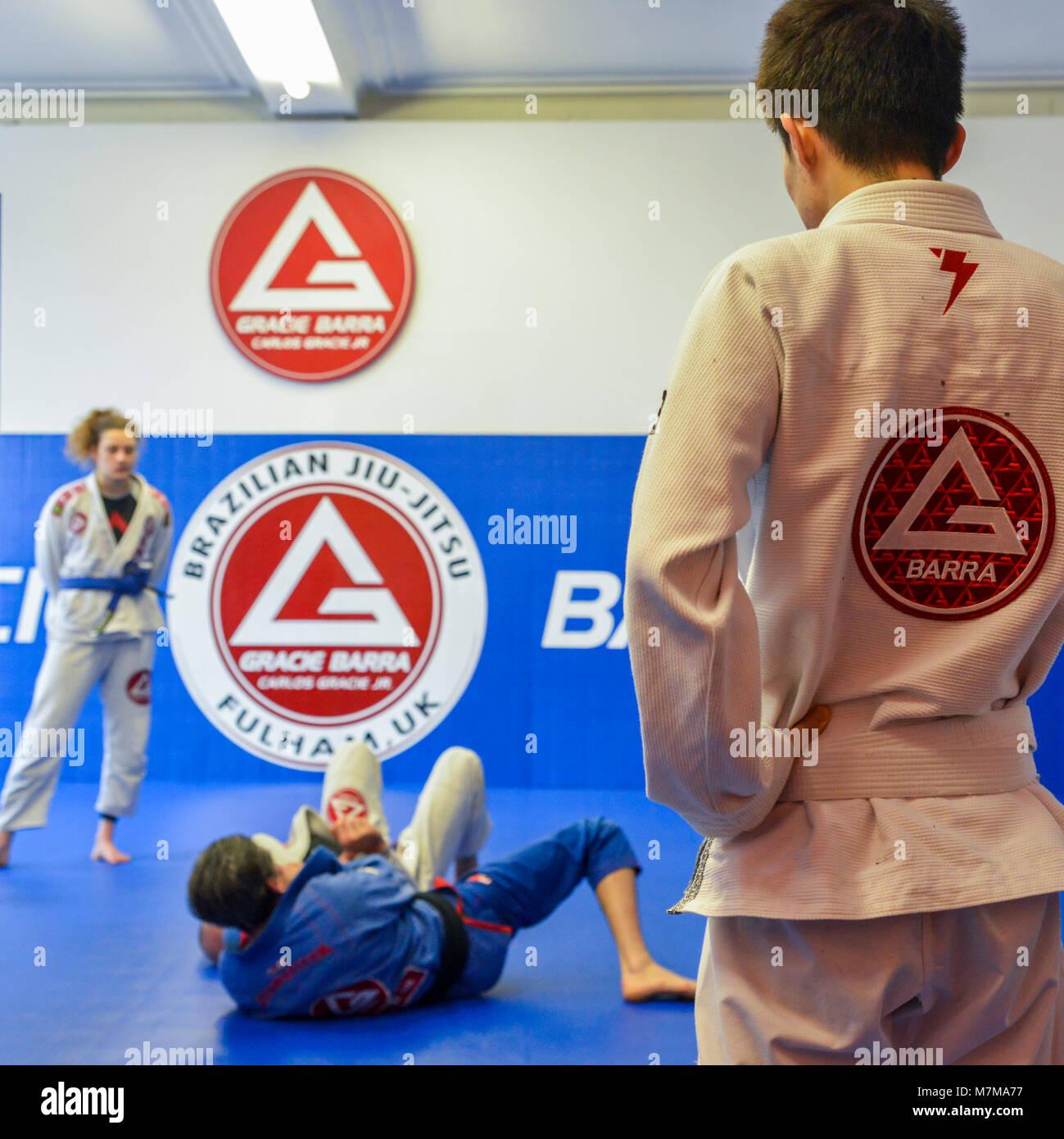 Kettlebell Training For Mixed Martial Arts Brazilian Jiu: Brazilian Jiu Jitsu Stock Photos & Brazilian Jiu Jitsu