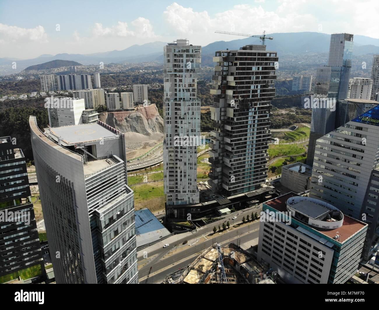 Santa Fe Is One Of Mexico City S Major Business Districts Located In Stock Photo Alamy