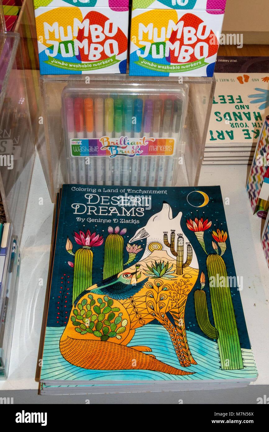 Coloring Book Crayons Stock Photos & Coloring Book Crayons Stock ...
