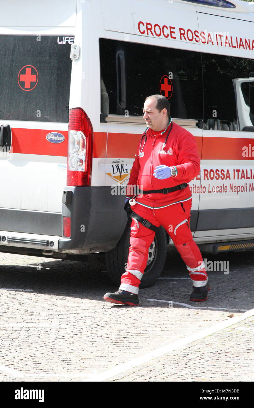 ae8d9a2fd8 Exercise of the Croce Rossa Italiana Practical exercise and simulation of  rescue situations with the staff of the