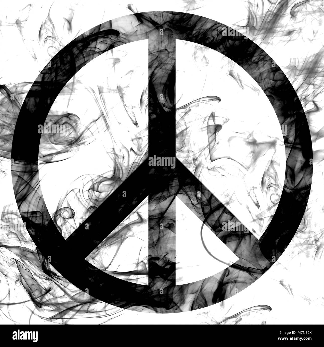 Peace Sign Black And White Stock Photos Images Alamy