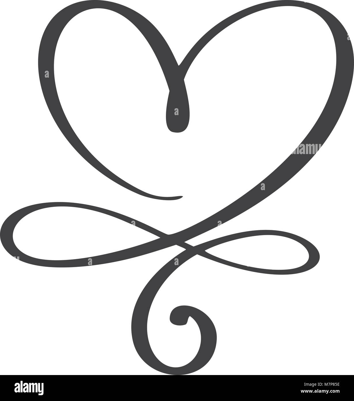 Heart love sign forever infinity romantic symbol linked join stock heart love sign forever infinity romantic symbol linked join passion and wedding template for t shirt card poster design flat element of valentine buycottarizona Gallery