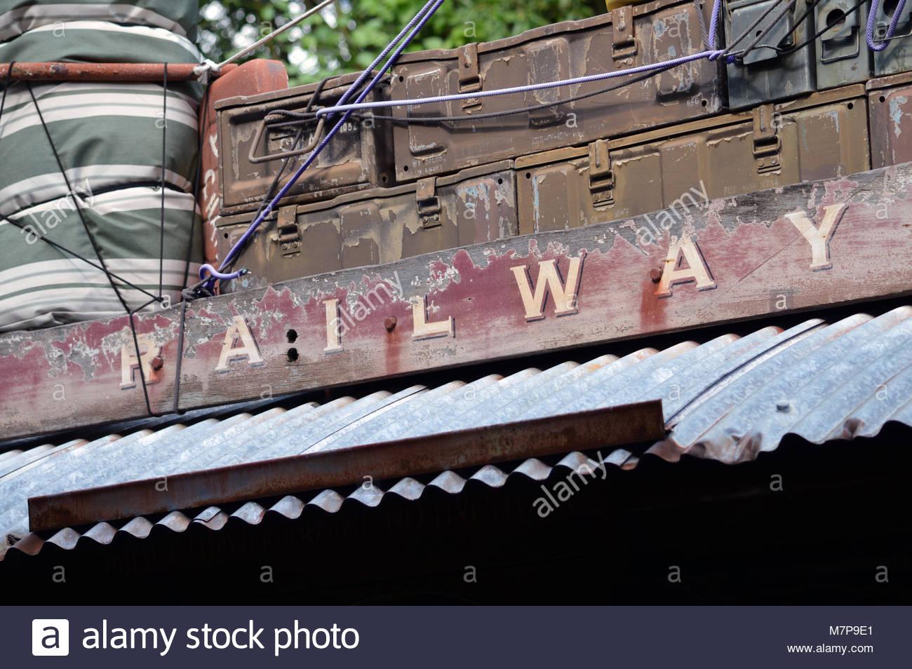 Railway Carriage Sign Stock Photos Amp Railway Carriage Sign