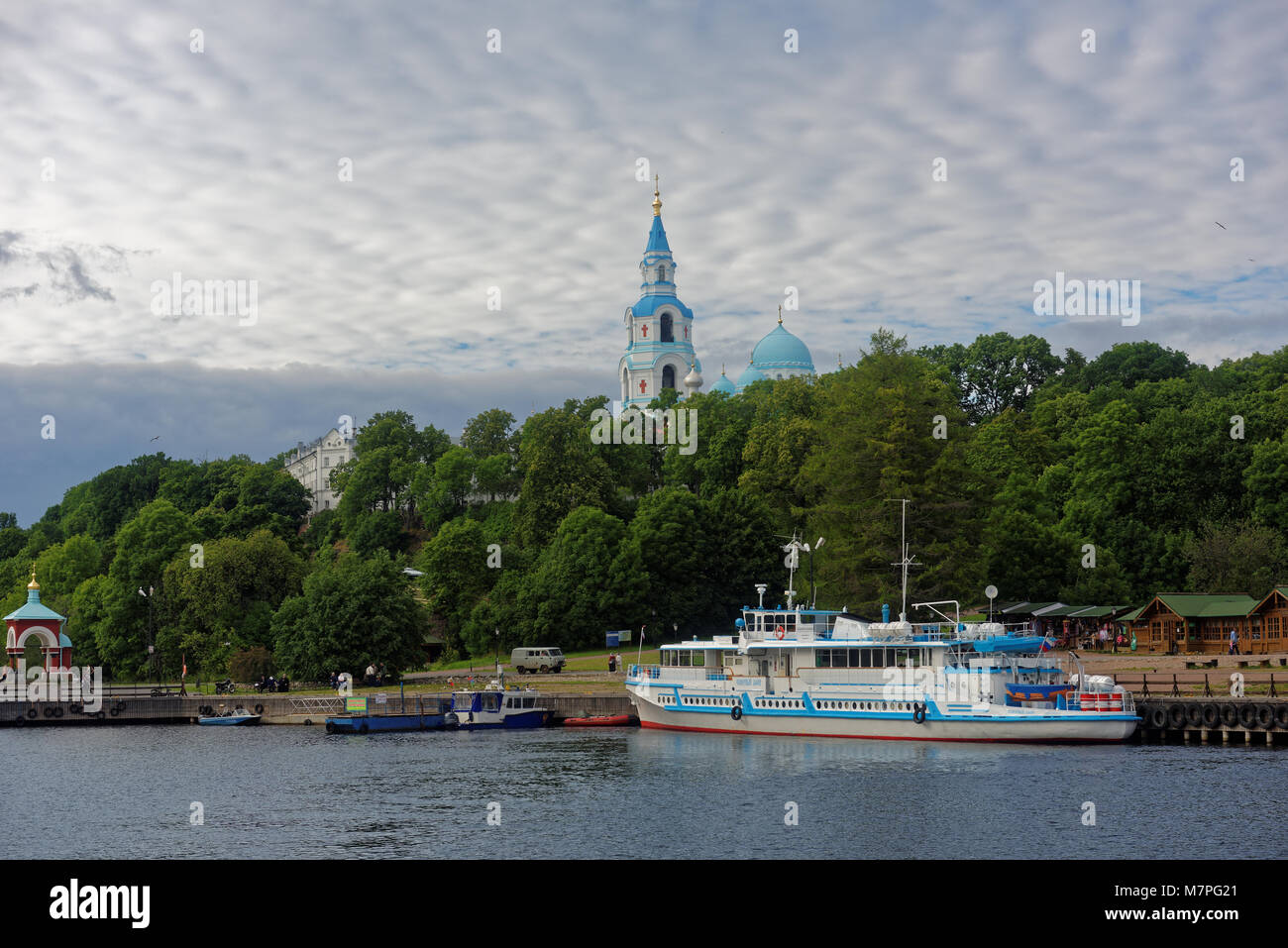 The motor ship on Valaam. Valaam: the map. Cruise to Valaam