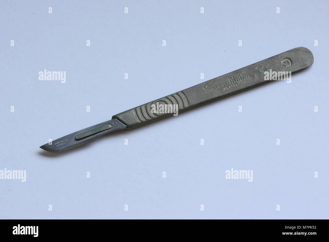 Medical Scalpel - Stock Image