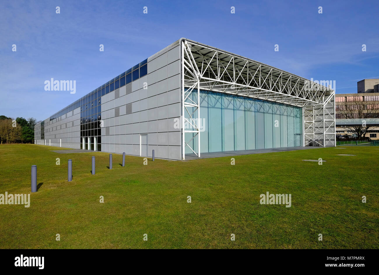 the sainsbury centre for visual arts, uea, norwich, norfolk, england - Stock Image