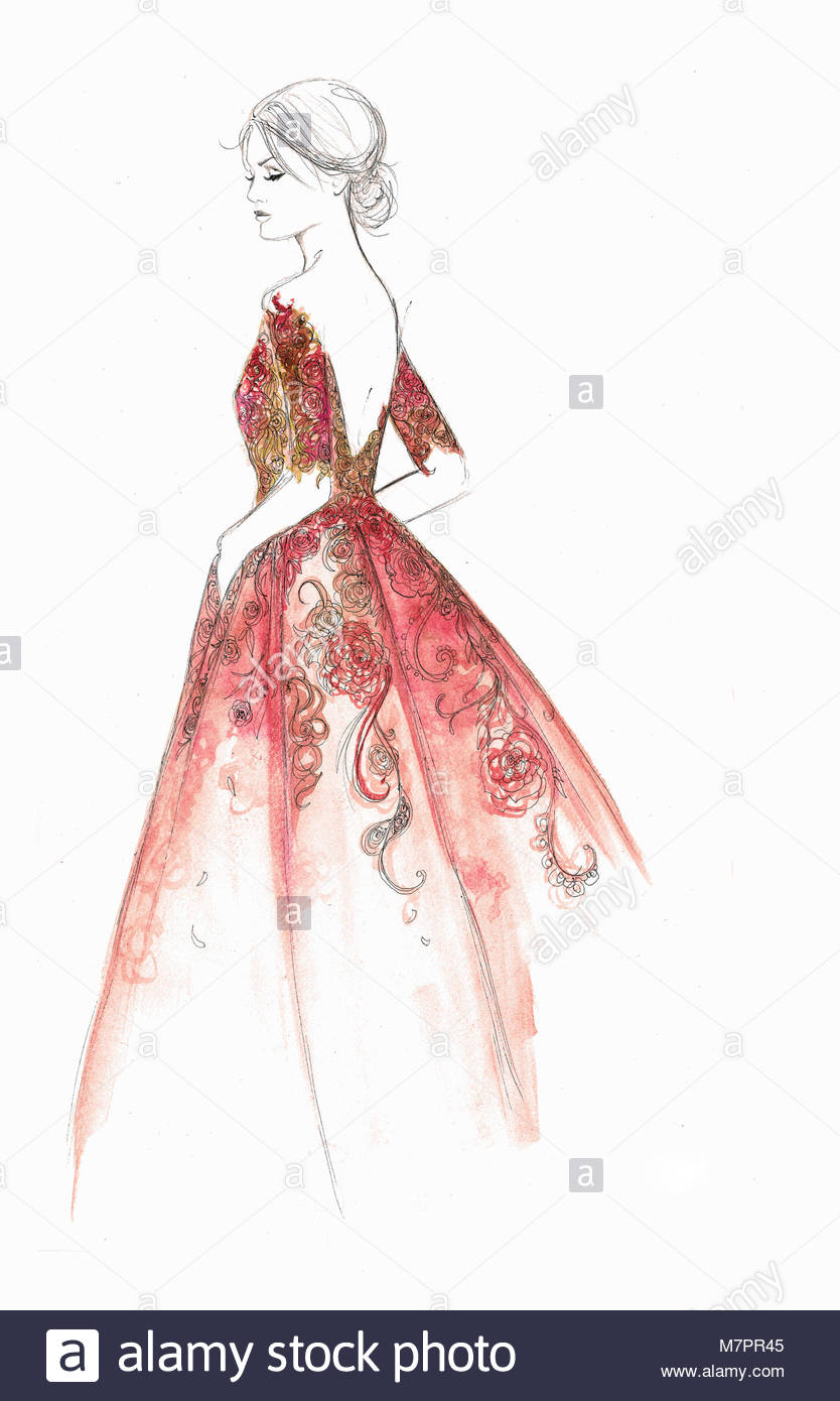 Evening Dress Gown Stock Photos & Evening Dress Gown Stock Images ...