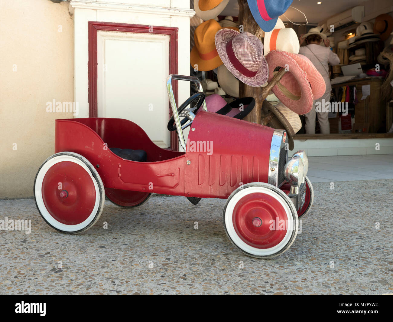 Toy Pedal Car High Resolution Stock Photography And Images Alamy