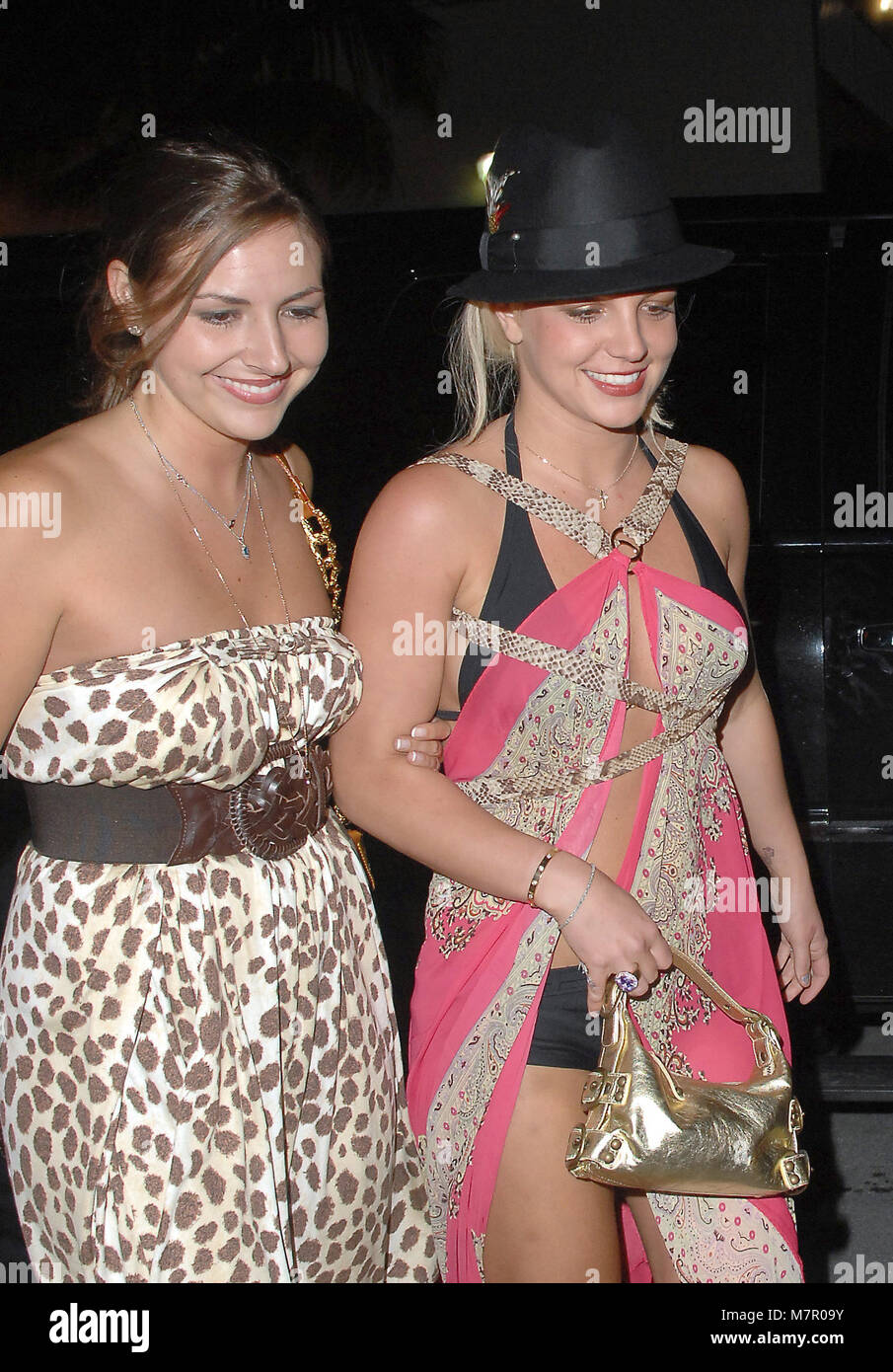 Britney Spears And Jamie Lynn Spears High Resolution Stock Photography And Images Alamy
