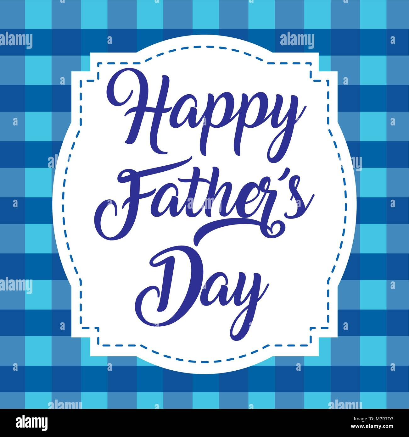happy fathers day - Stock Image