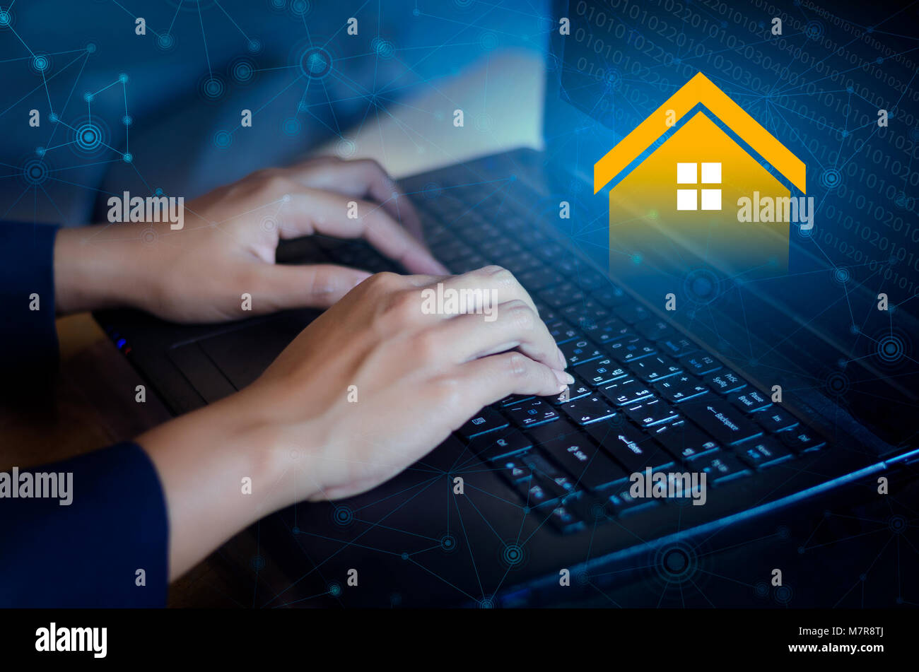 Online Realtor Stock Photos Online Realtor Stock Images Alamy