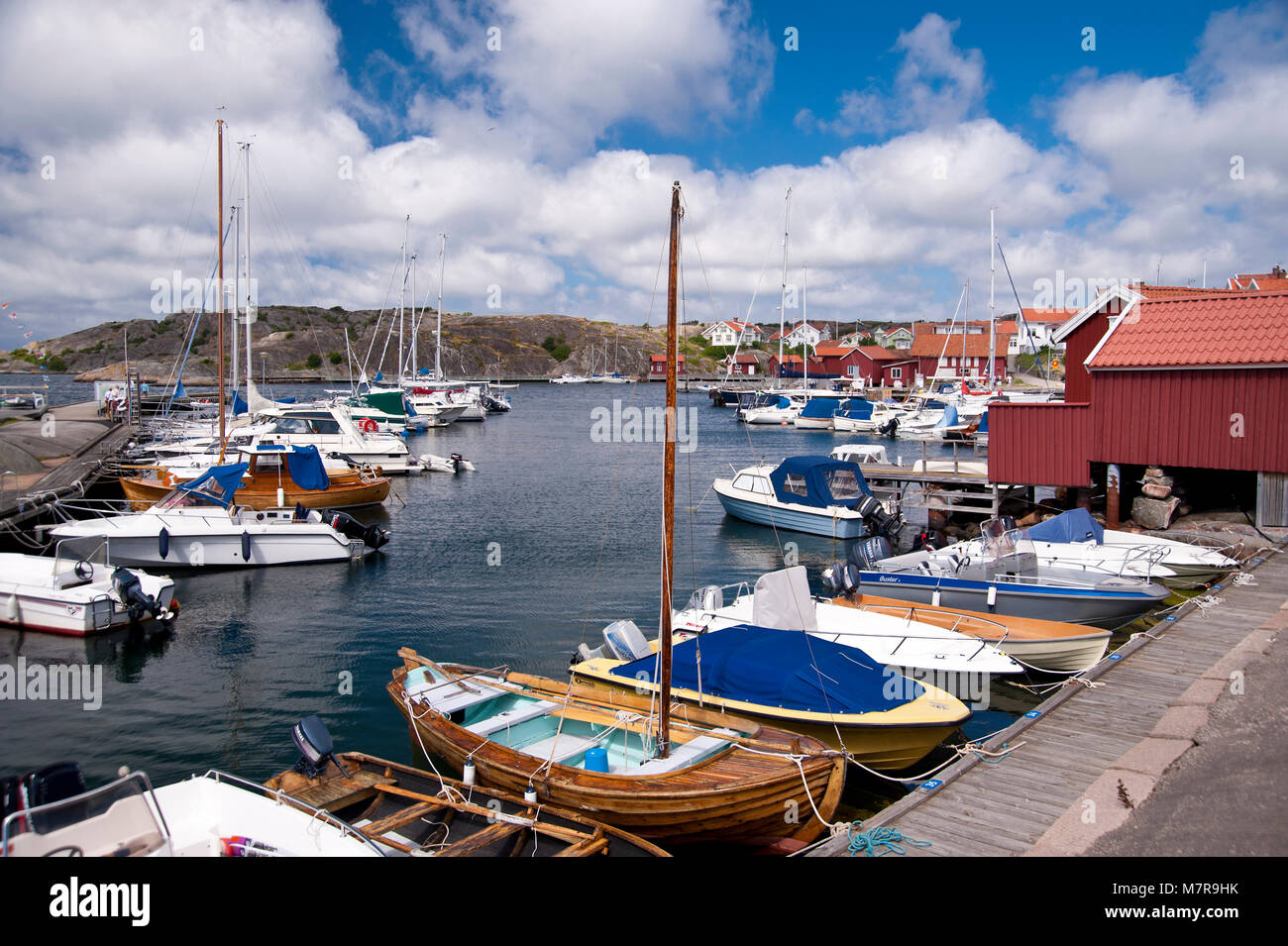 Haellevikstrand, Sweden Stock Photo