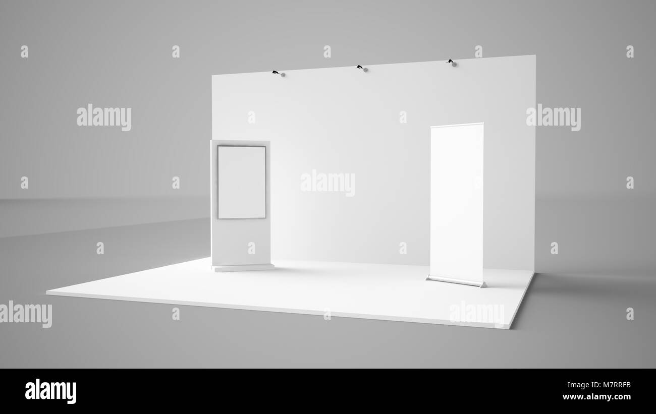 Exhibition Stand With Screen : How giant touchscreens benefit exhibition stands