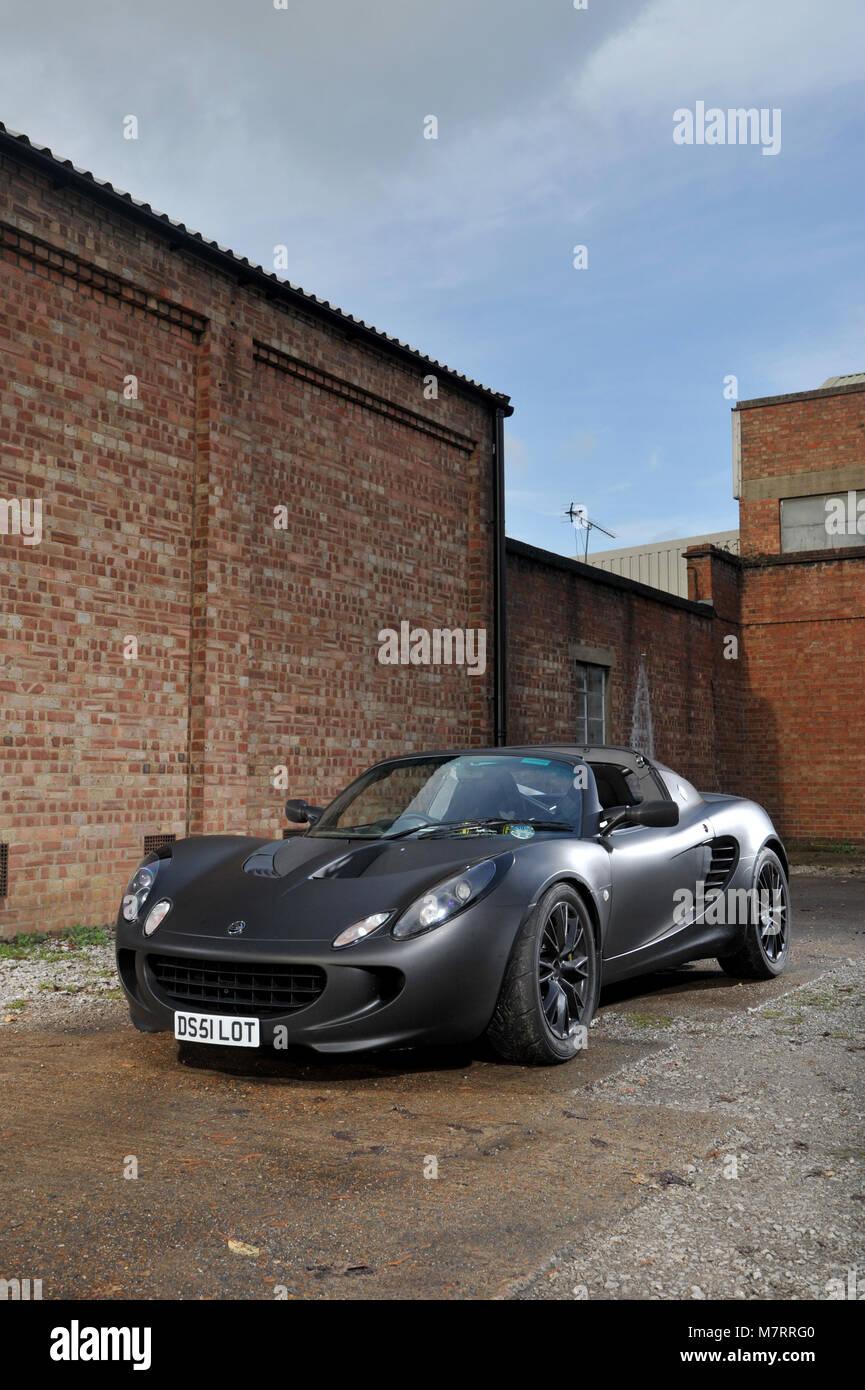 2001 Lotus Elise British sports car - Stock Image