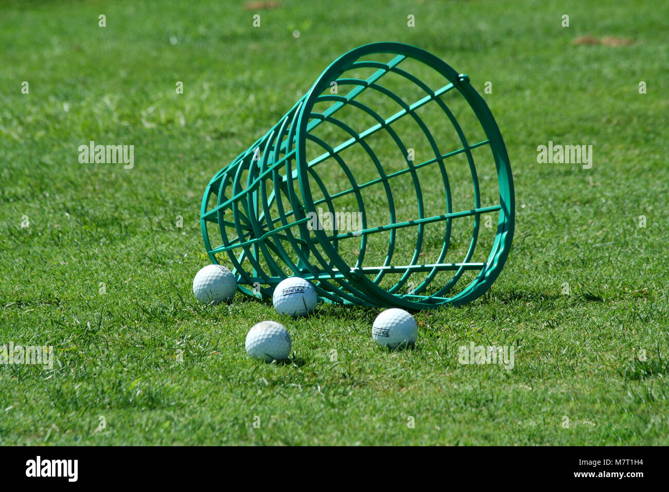 Golf Balls And Bucket High Resolution Stock Photography and Images ...