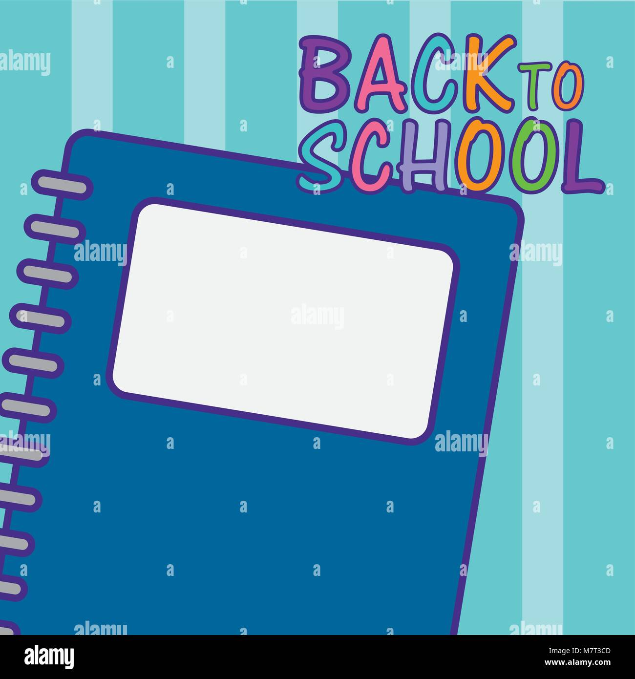 Back to school and supplies Stock Vector