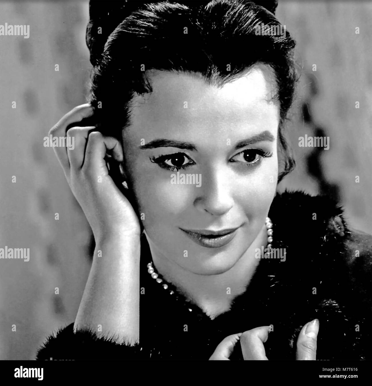 THE BROTHERS KARAMAZOV 1958 MGM film with Claire Bloom as Katya - Stock Image