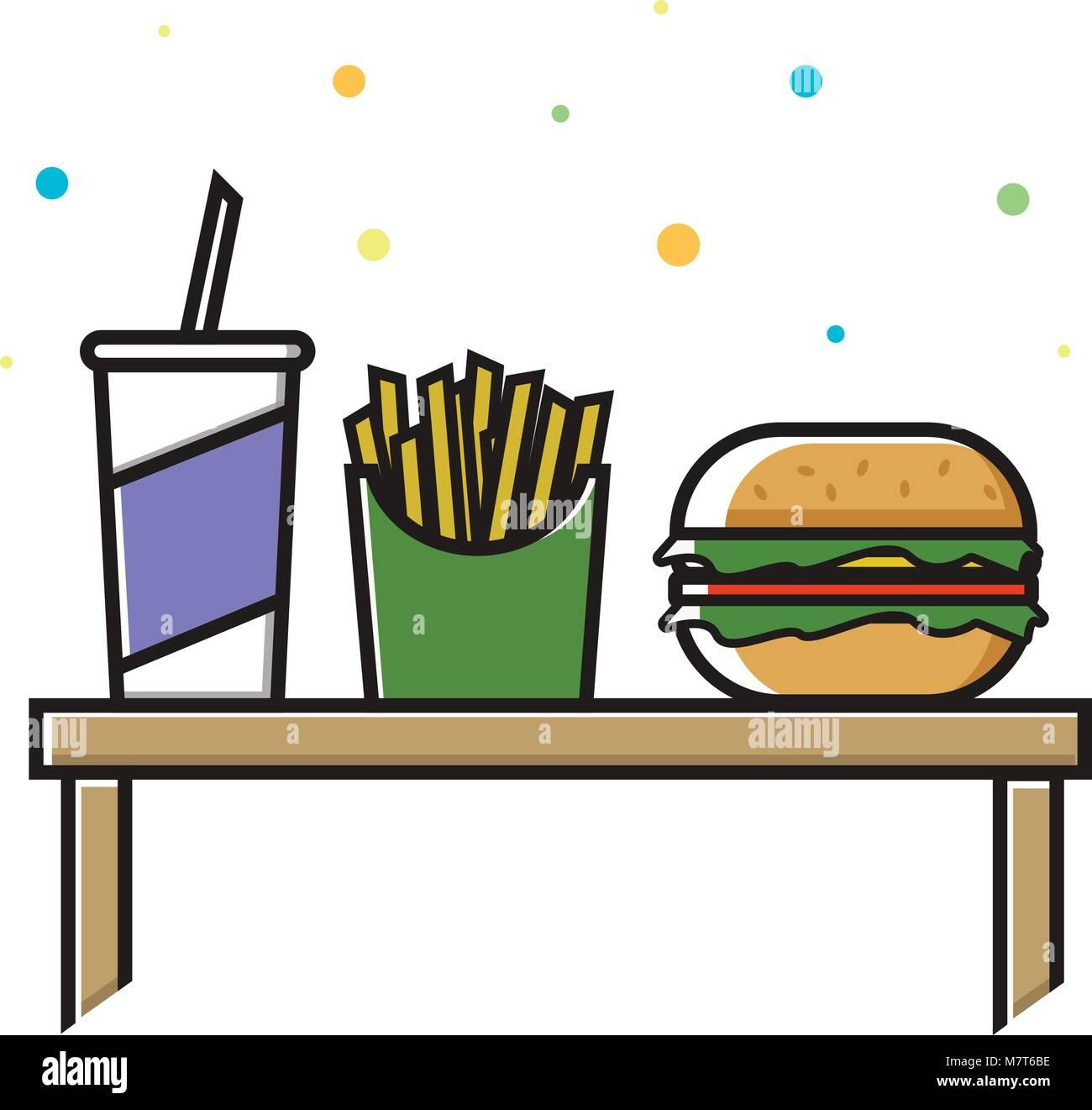 Hamburger French Fries Food Restaurant Stock Photos & Hamburger ...