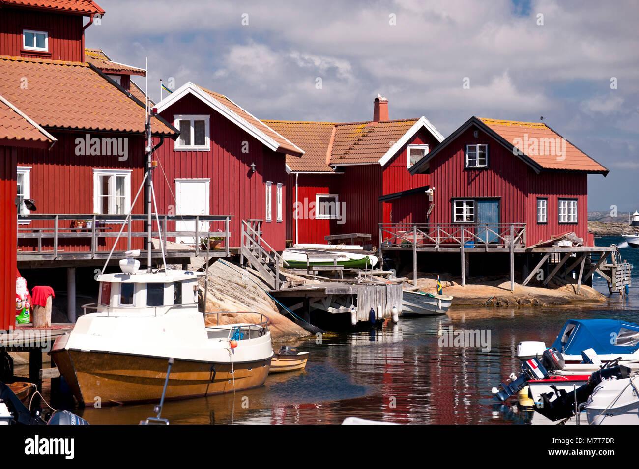 Kaeringoen, Sweden Stock Photo