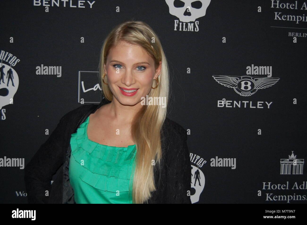 Antonia Fuchs ('Unter Uns') Berlinale-Party 'LOS BANDITOS GOES WILD' im Hotel ADLON Kempinski am - Stock Image