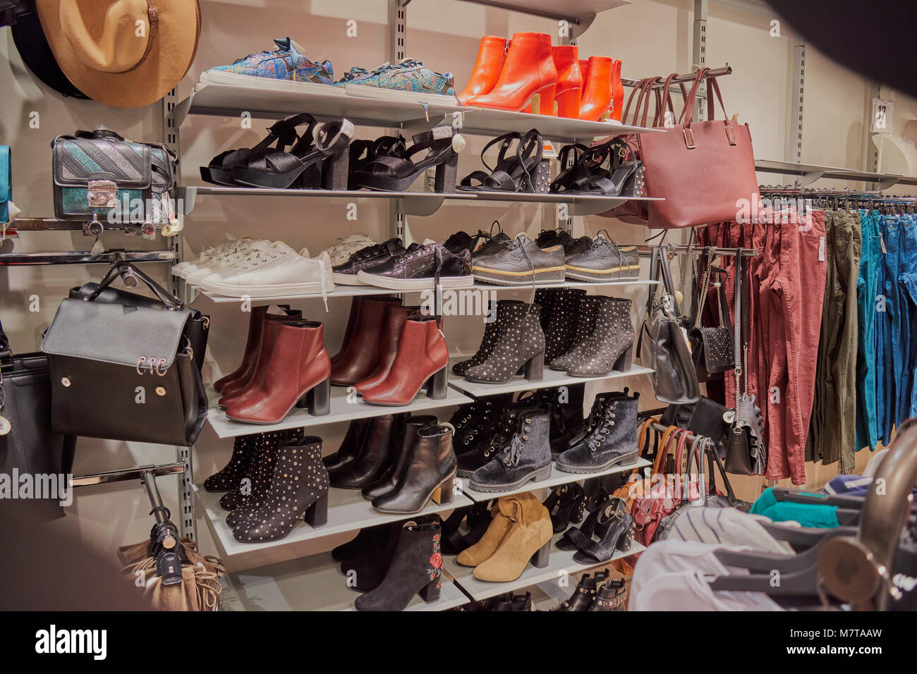 41a74b5f5230 Shoes And Bags Shop Stock Photos   Shoes And Bags Shop Stock Images ...