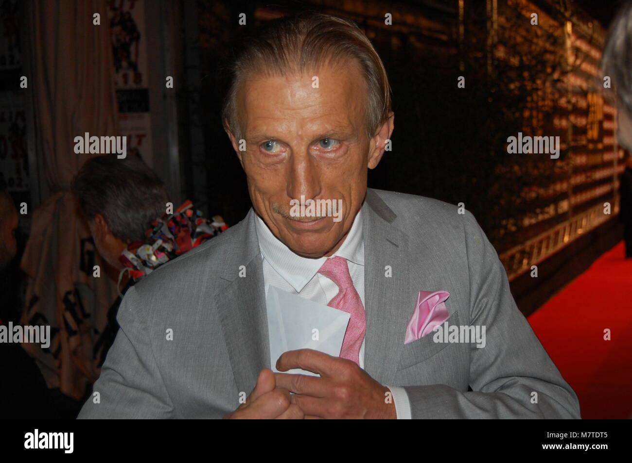 Fussballtrainer Christoph Daum LAMBERTZ MONDAY NIGHT 2018 - 29.01.2018 Wartesaal am Dom, Köln Stock Photo