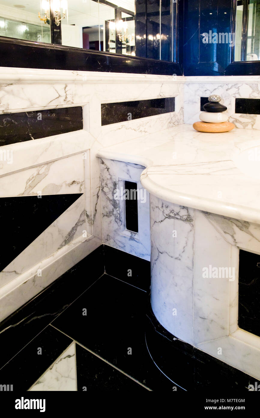 Prime Bathroom With Marble Cabinets Counter Top And Walls Marble Download Free Architecture Designs Lukepmadebymaigaardcom