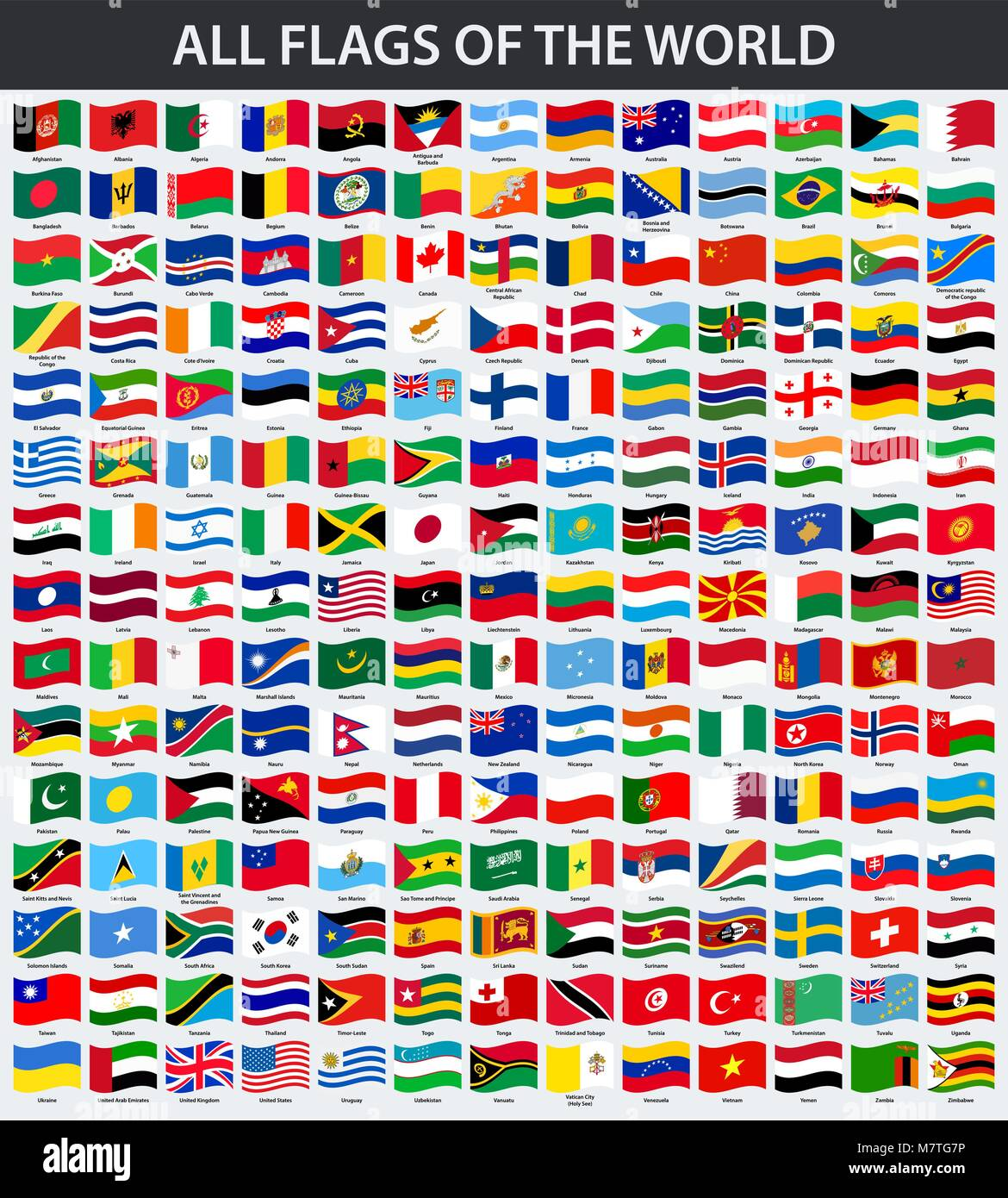Flags Of The World Stock Photos & Flags Of The World Stock