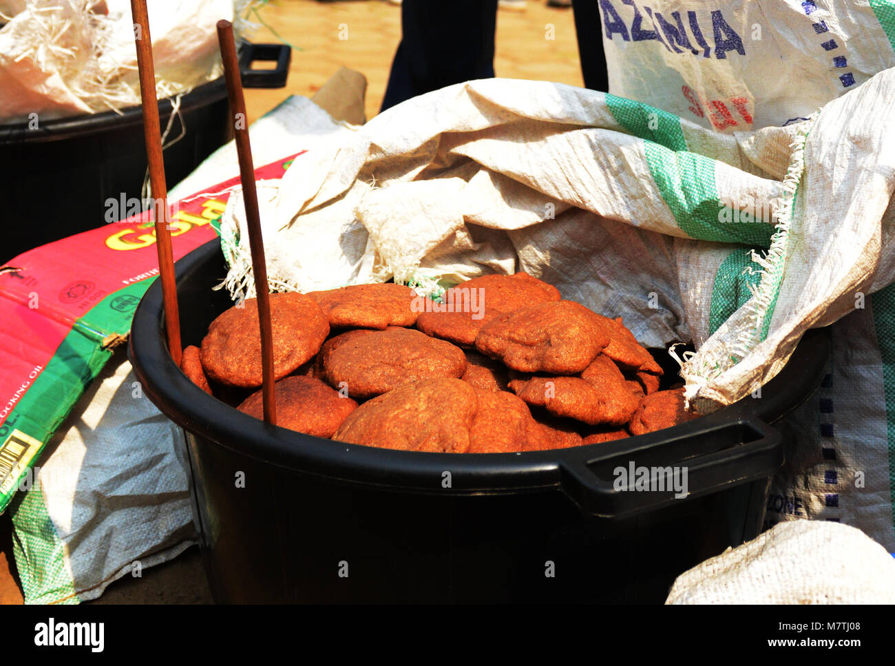 Mandazi Is A Popular Snack In Rwanda And Central Africa Stock Photo Alamy