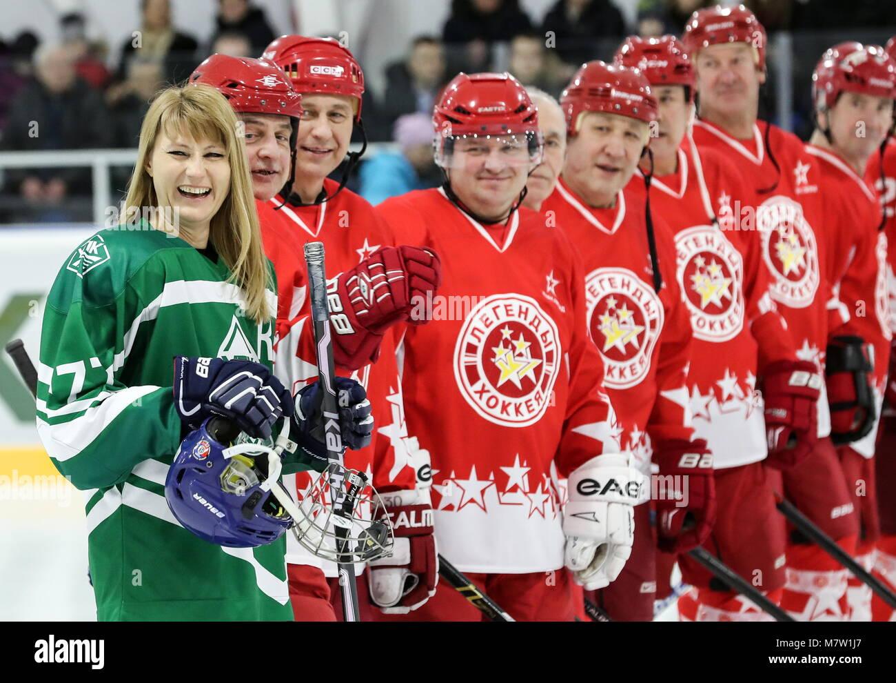 Russia Svetlana Zhurova Stock Photos & Russia Svetlana