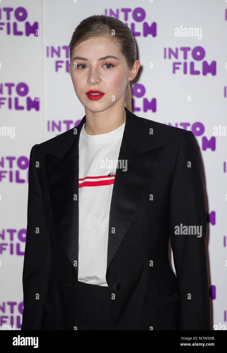 London, UK. 13th March, 2018.  attends the Into Film Awards at BFI Southbank on March 13, 2018 in London, England. Stock Photo