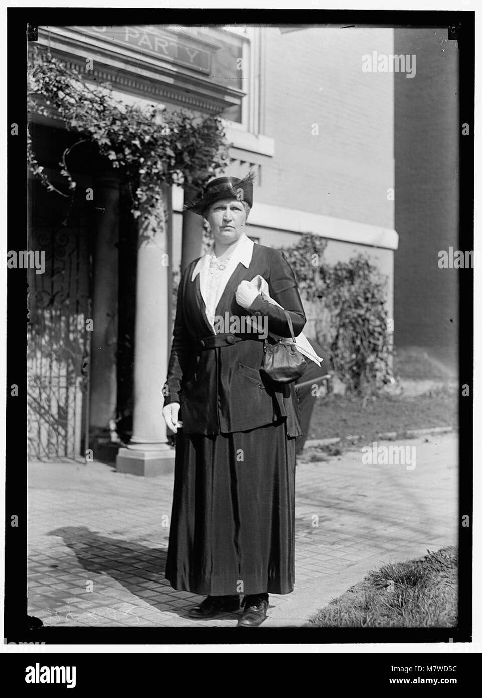 WOMAN SUFFRAGE HEADQUARTERS, NATIONAL WOMEN'S PARTY. MRS. COLVIN LCCN2016869103 - Stock Image