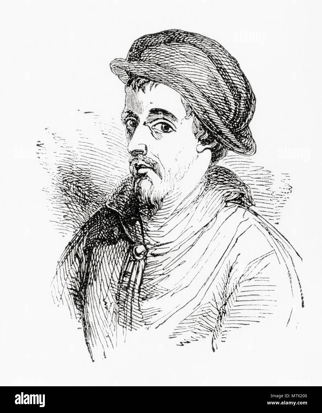 John Howard, 1st Duke of Norfolk, c. 1425 – 1485.  English nobleman, soldier, politician.  From Old England: A Pictorial - Stock Image