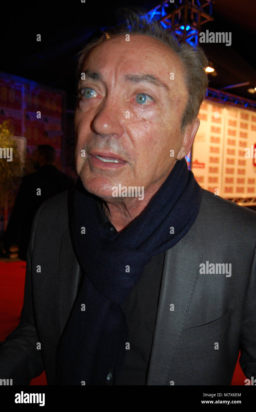 Udo Kier during the Lambertz Monday Night 2016 (Schokoparty) at Alter Wartesaal on February 1, 2016 in Cologne, - Stock Image