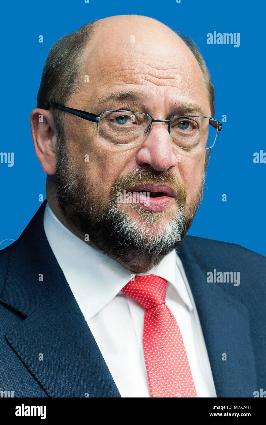 Martin Schulz - *20.12.1955: German politician of the Social Democratic Party, 2012 to 2017 President of the European - Stock Image