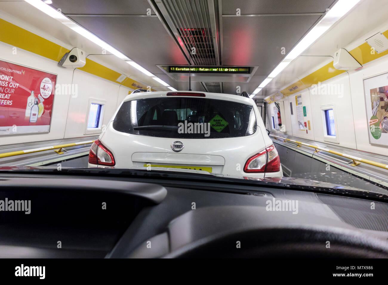 Car Park Euro Tunnel