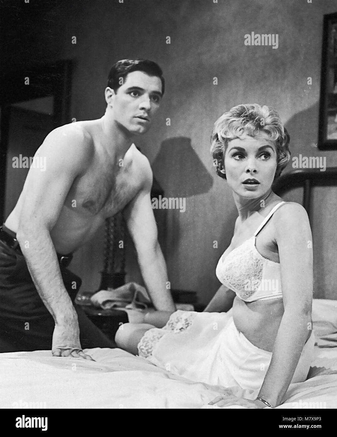 Psycho 1960 Paramount Pictures Film With Janet Leigh And