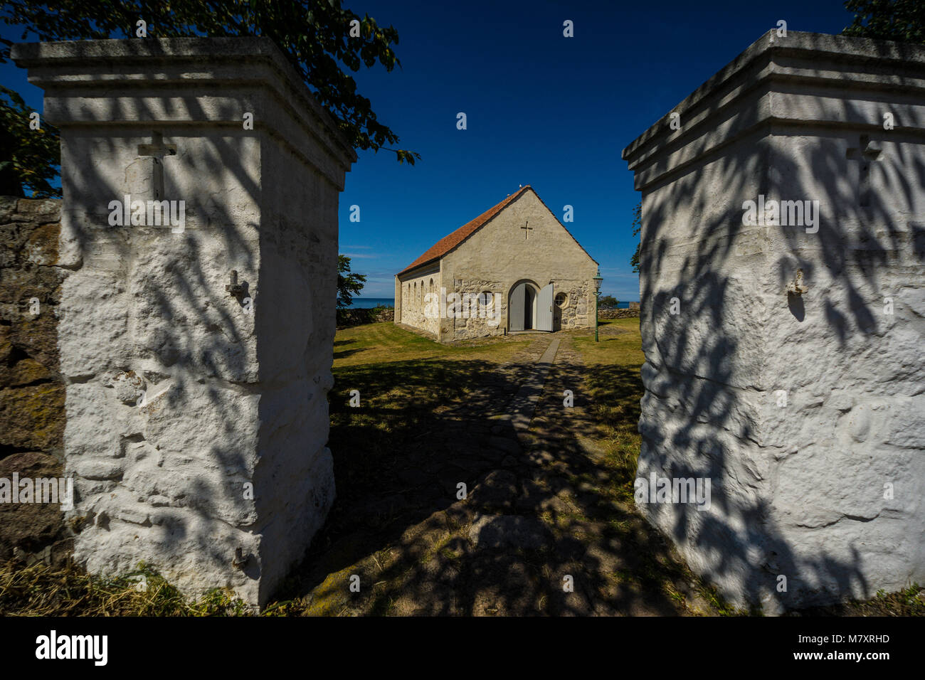Christiansø is a smal island east of Bornholm in the Baltic Sea and the most eastern spot in Denmark. Has been a Stock Photo