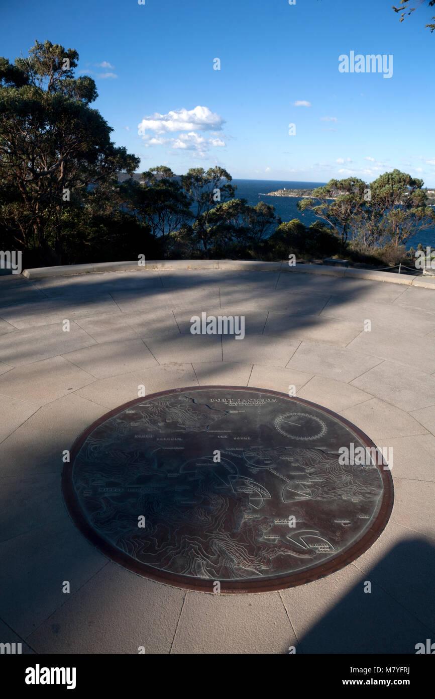georges head headland park mosman sydney new south wales australia - Stock Image
