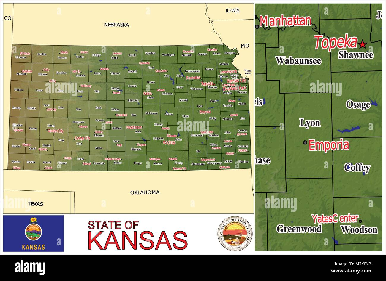 Kansas State Counties Administrative divisions United States Stock on akron county map, kansas state bell, kansas state hospital, kansas state restaurants, greeley county kansas land map, kansas missouri county map, kansas state halftime, kansas state police, kansas map by county, kansas state population 2015, kansas state resources, kansas state representative districts, brown county kansas map, kansas map cities towns, kansas state fish, kansas state band, kansas state government, kansas section map, kansas state library,