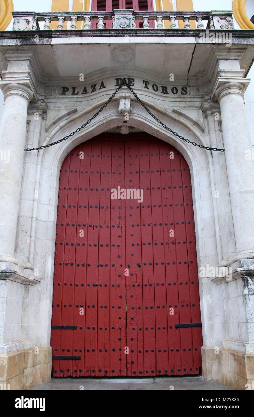 Seville Bullring - Stock Image